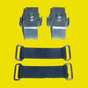 Suzuki RM Front Number Plate Bracket Set