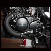 Suzuki TM Magneto Decal