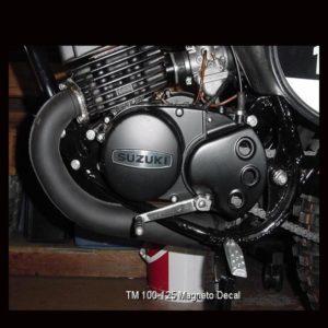 Suzuki RM Magneto Cover Decals