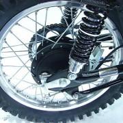 Suzuki TM Exhaust Warning Decal