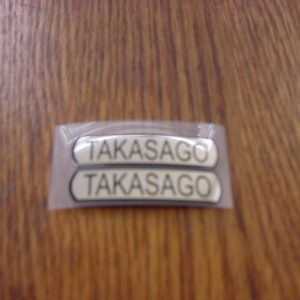 Suzuki TM Takasago Rim Decal Set