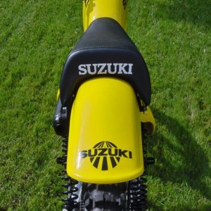 Suzuki TM Rear Fender Decal
