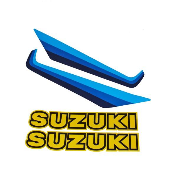 Suzuki RM125 Tank Decal Set (1982')