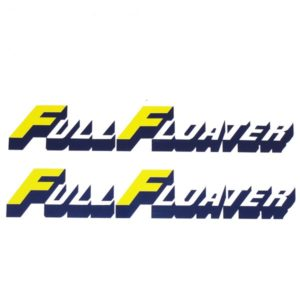 Suzuki Full Floater Swingarm Decal Sets