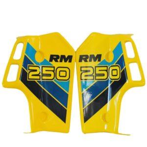 Suzuki RM250 Radiator Shroud Decal Set 86'