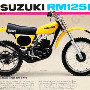 RM125 Models | Product categories | Vintage Suzuki