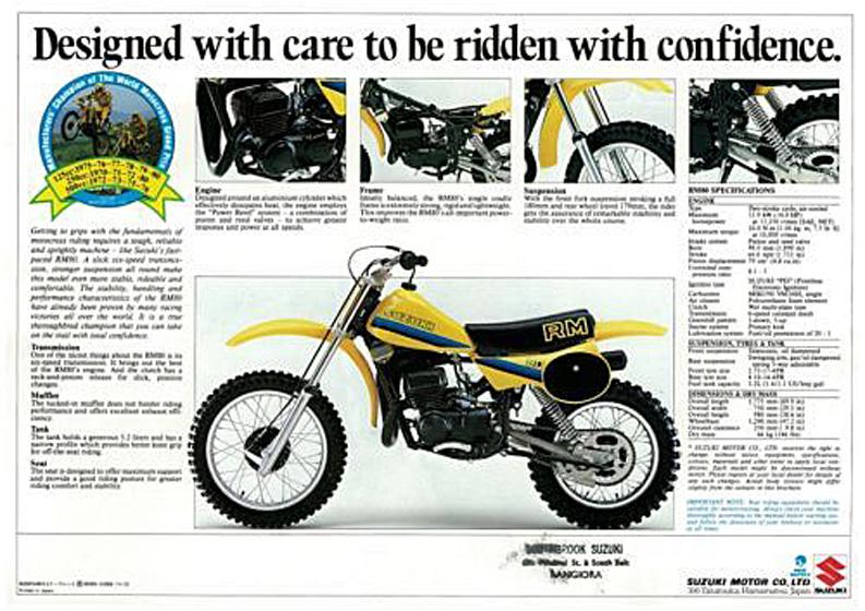 1981 suzuki rm80x vintage suzuki rh vintage suzuki com suzuki rm80 service manual suzuki rm 80 service manual pdf